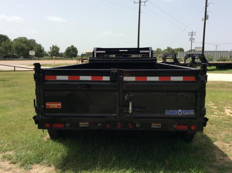 2018 Load Trail 83 x 14 Tandem Axle Gooseneck Dump Trailer