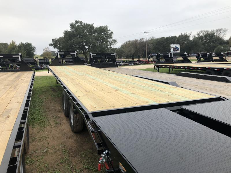 2019 Load Trail 102 x 40 Tandem Heavy Duty Gooseneck Max Ramps Flatbed Trailer