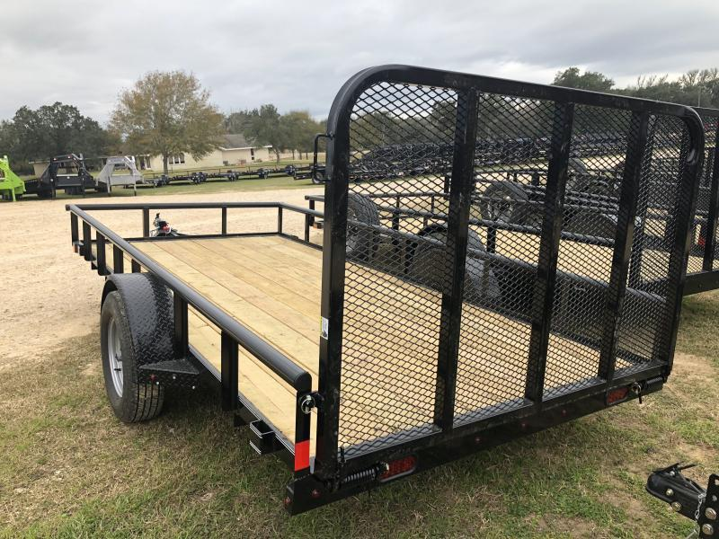 2019 X-On 77X14 PipeTop Utility Trailer