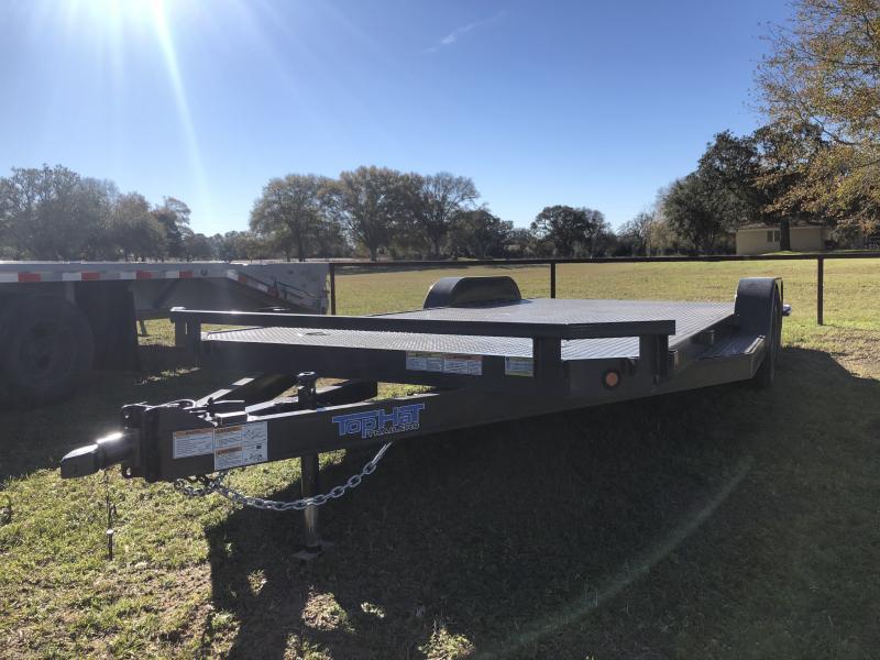 2019 Top Hat Trailers 83 x 20 Steel Deck Carhauler
