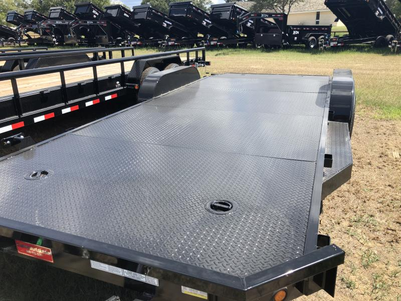2018 Top Hat Trailers 20' Steel Deck Carhauler / Racing Trailer