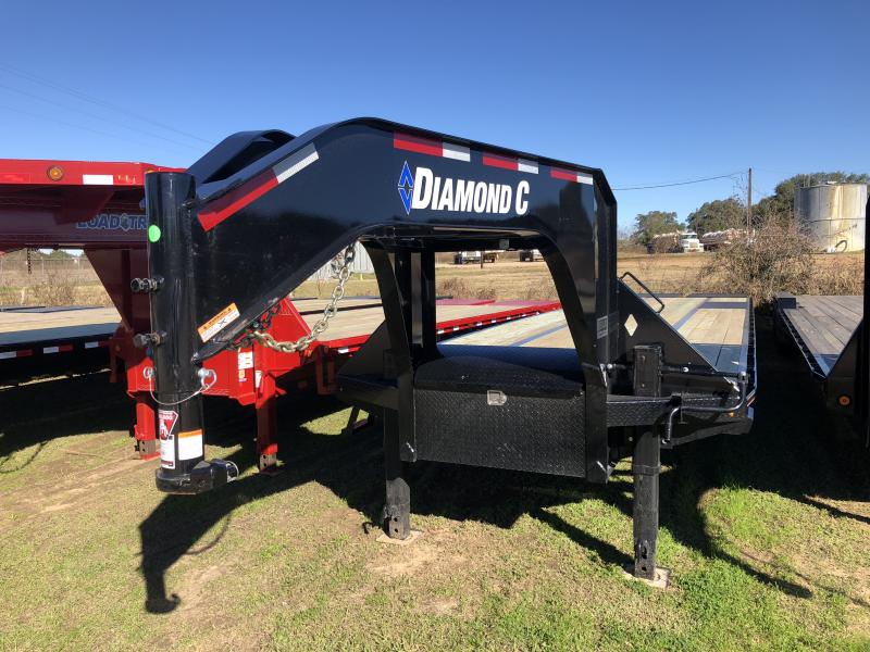 2019 Diamond C Trailers 40 HOTSHOT TRAILER W/ HD RAMPS