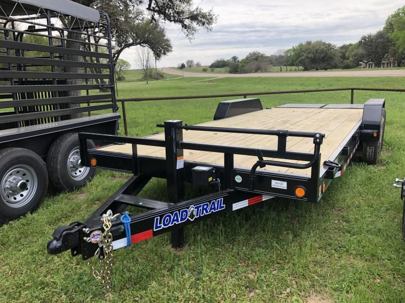 2019 Load Trail 22' LOWBOY W/ MAX RAMPS