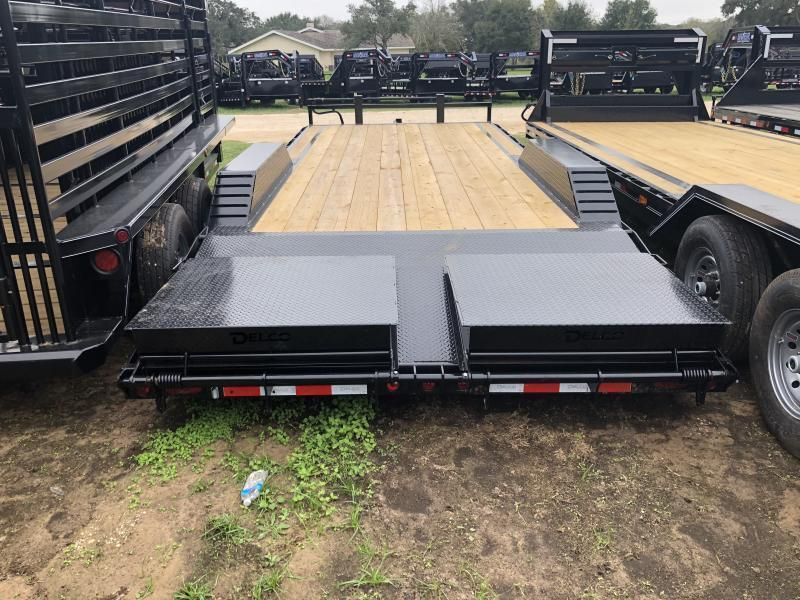 2019 Delco Trailers 102x22 LowBoy Max Ramps