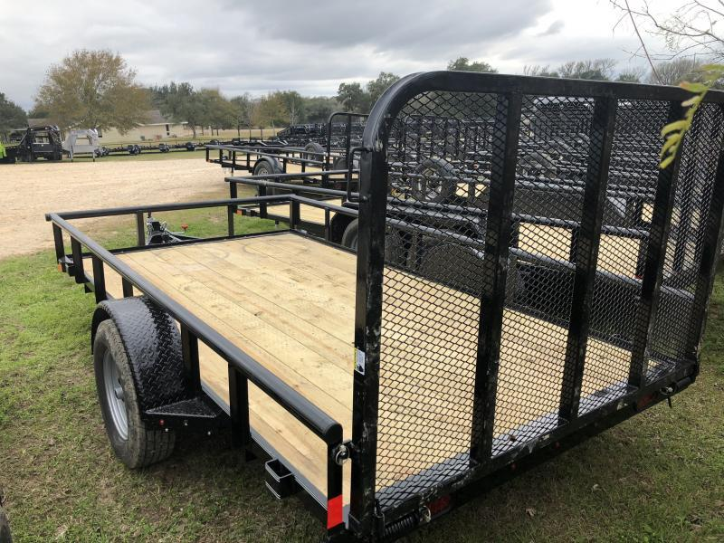 2019 X-On 77x12 Pipetop Utility Trailer