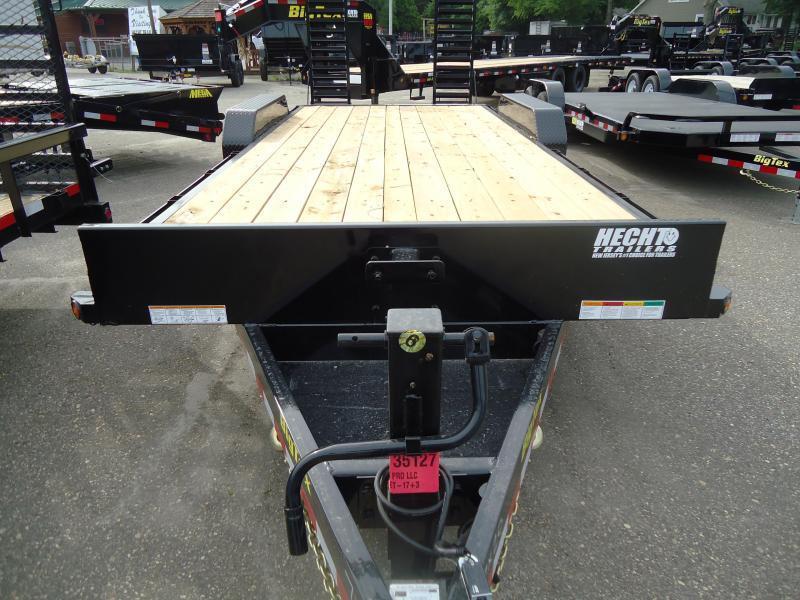 2019 Big Tex Trailers EH 7X20 16ET 17+3BK 5SUKR KNEE BLACK Equipment Trailer