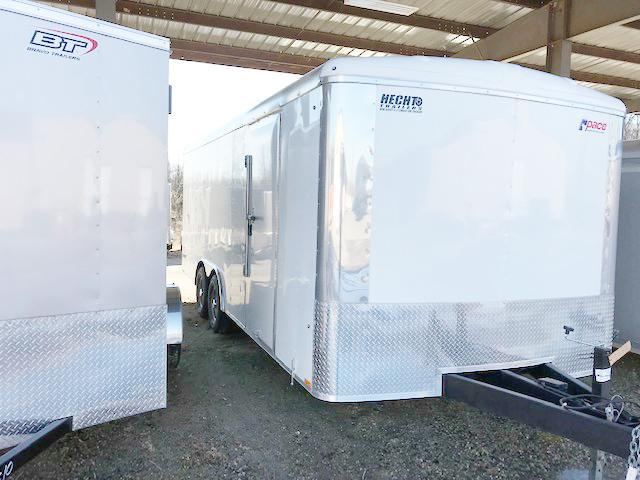 "2019 Pace American 8.5X20 CLS TE3 18""XA RAMP WHITE Enclosed Cargo Trailer"