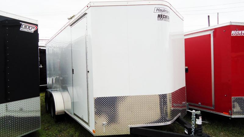 2019 Haulmark 7X16 TSV T2 V RAMP WHITE Enclosed Cargo Trailer
