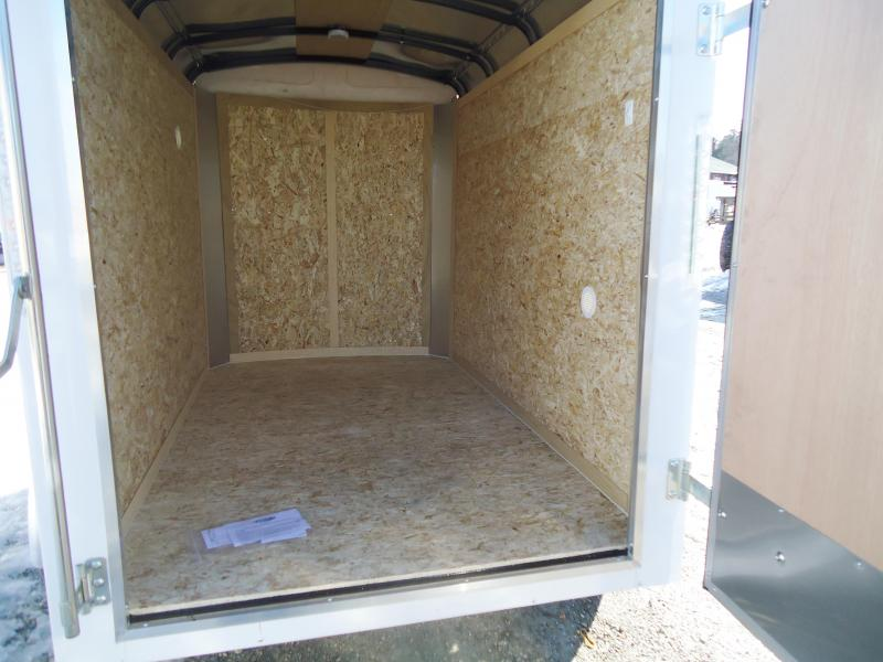 2018 Pace American 5X8 JT SI2 SVNTS WHITE Enclosed Cargo Trailer