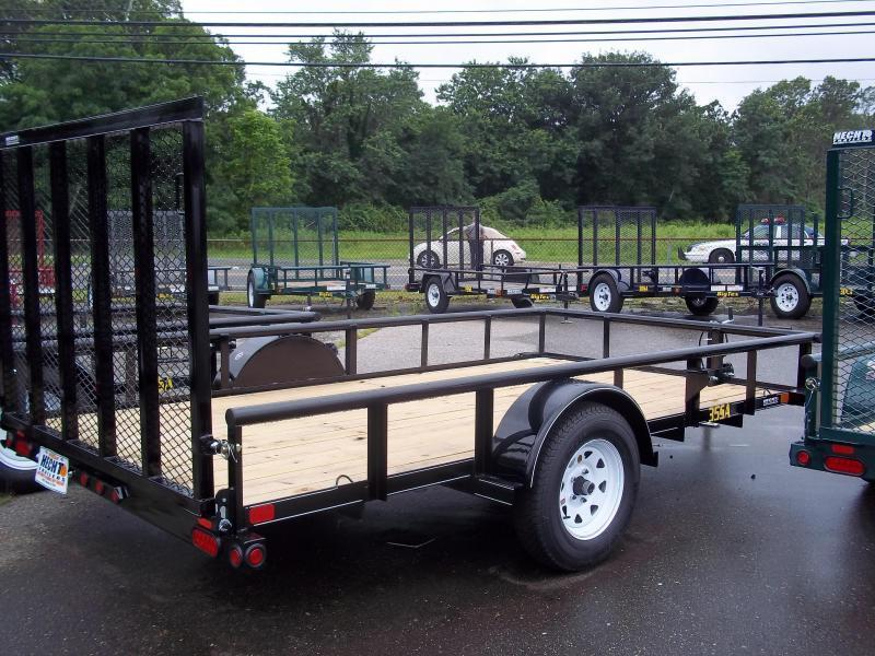 2017 Big Tex Trailers UT 7X12 35SA-12XBK4RG BLACK Utility Trailer