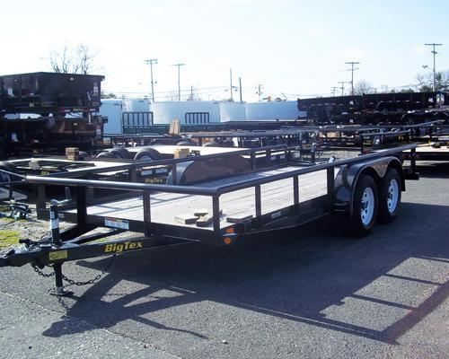 2016 Big Tex Trailers UT-7X16 12PI-16BK4HDSAG Utility Trailer