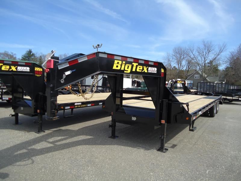 2018 Big Tex Trailers EH 8.5X25 22GN 20BK+5MR MEGA BLACK