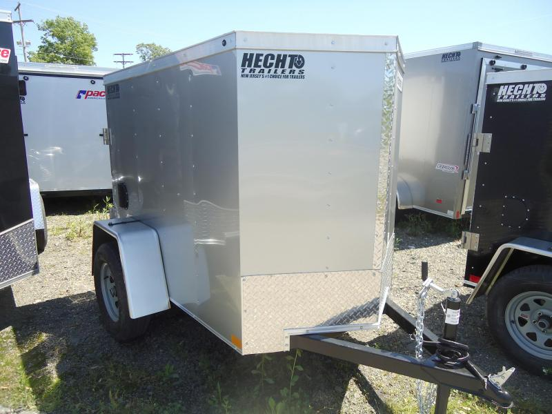 2018 Haulmark 4X6 HMVG S SILVER 3000 Trim Level Enclosed Cargo Trailer