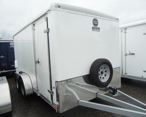 2015 Wells Cargo 7X14CW RAMP 7700# Enclosed Cargo Trailer