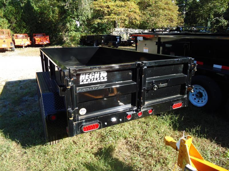 2018 Big Tex Trailers DT 5X10 70SR 10-5WDD DBL DOOR BLACK Dump Trailer