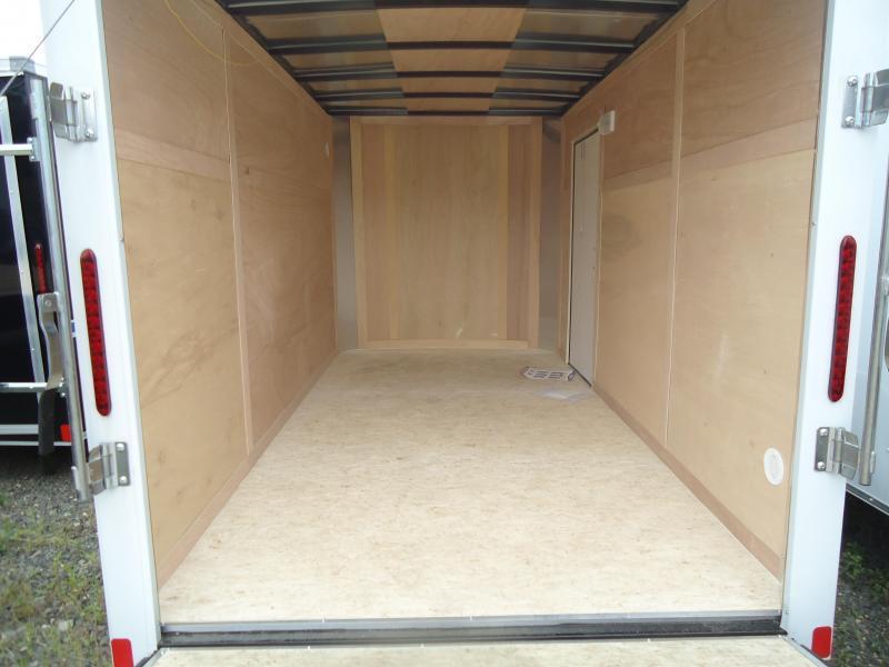 2019 Bravo Trailers 6X12 HR SA LD RAMP WHITE Enclosed Cargo Trailer