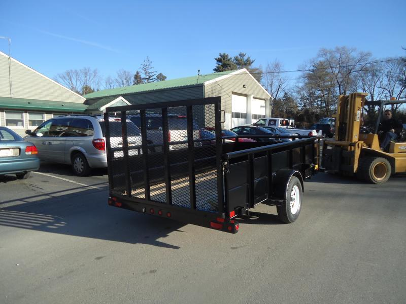 2019 Big Tex Trailers UT 6.5X10 35SV-10BK 4RG BLACK Utility Trailer