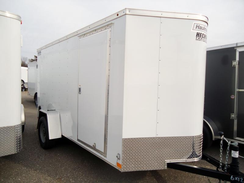 2019 Haulmark 6X12 PPT DS2 WHITE Enclosed Cargo Trailer