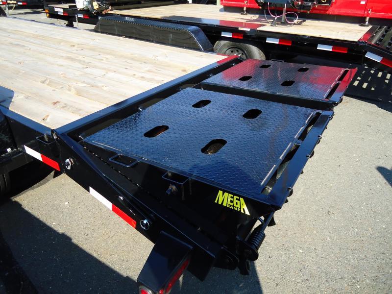 2019 Big Tex Trailers EH 7X18 16ET 153BK 5SUMR MEGA BLACK Car / Racing Trailer