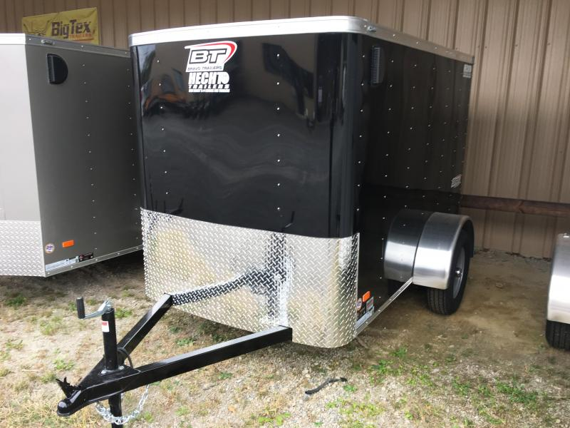 2018 Bravo Trailers 5X8 SC SA APP BLACK Enclosed Cargo Trailer