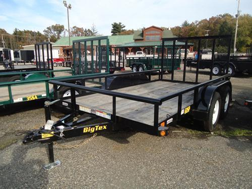 2015 Big Tex Trailers UT-6.5X14 60SP-14BK 4RG