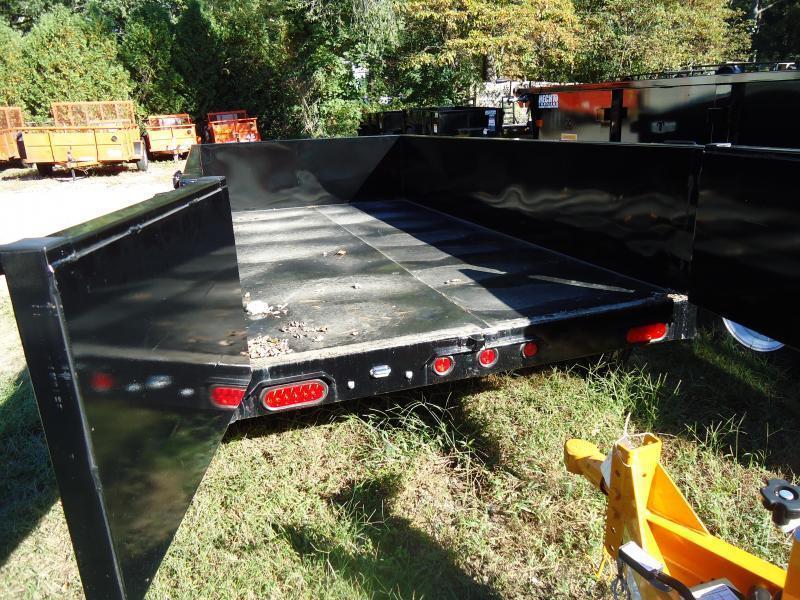 2019 Big Tex Trailers DT 5X10 70SR 10-5WDD DBL DOOR BLACK Dump Trailer