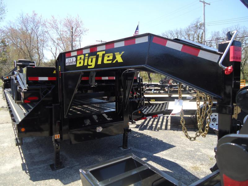 2018 Big Tex Trailers EH 8.5X40 22GN 35BK5MR DT MEGA BLKWOOD BLACK Equipment Trailer