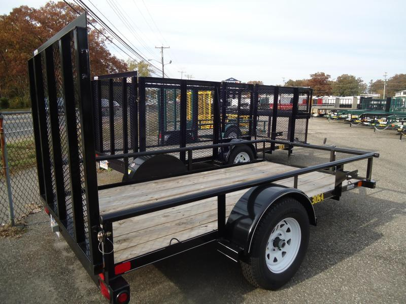 2017 Big Tex Trailers UT-5X10 30SA-10BK4RG BLACK Utility Trailer