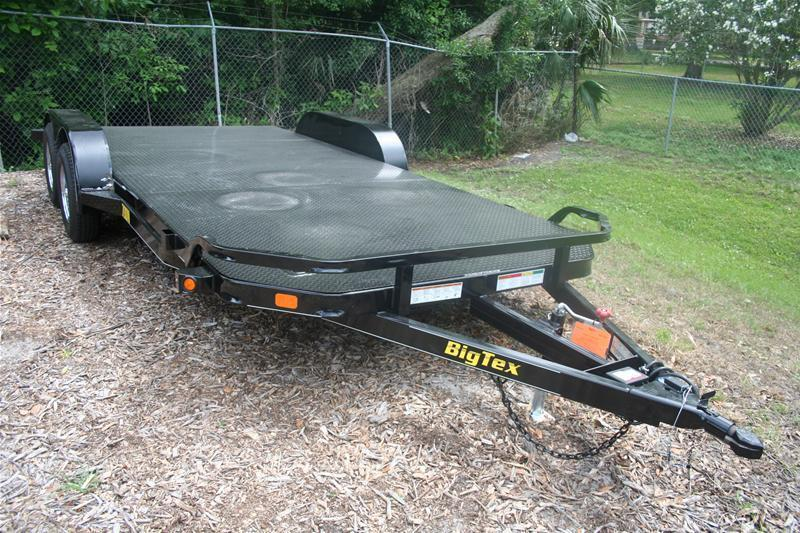 2016 Big Tex Trailers CH-7X20 10DM-20BK Car / Racing Trailer