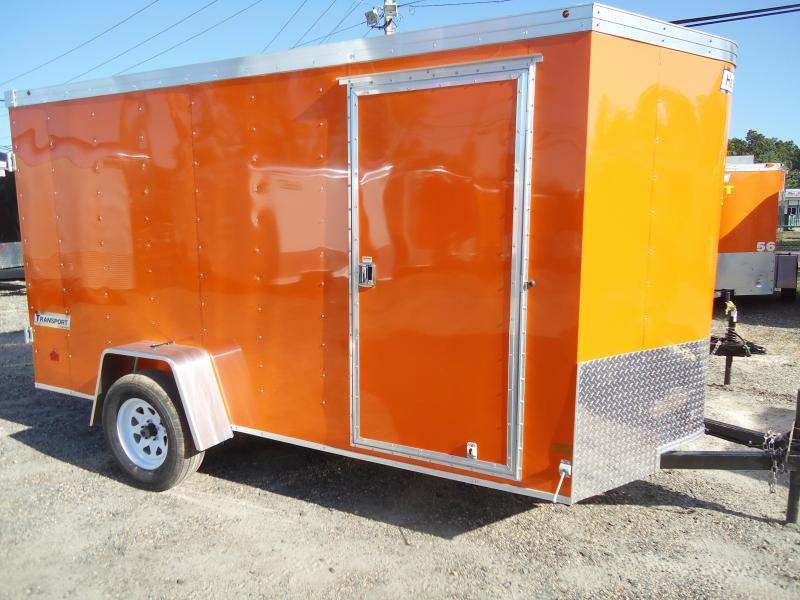 2018 Haulmark 6X12 TSTV DS2 ORANGE Enclosed Cargo Trailer