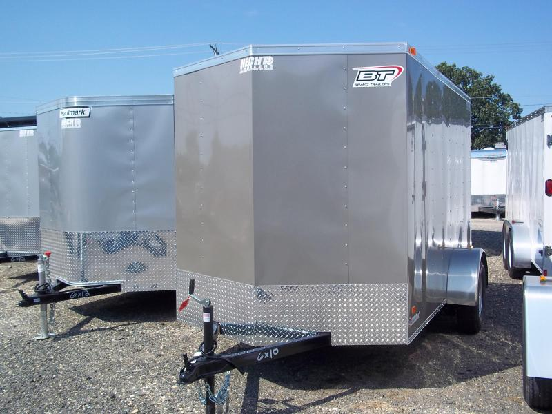 2017 Bravo Trailers 5X10SC SA V LD RAMP APP Enclosed Cargo Trailer