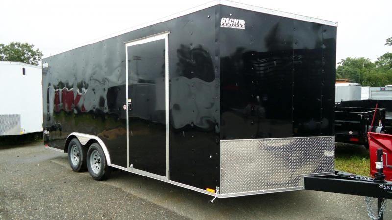 2020 Pace American 8.5X18 OBDLX 30VS 18TUNG RAMP SVNT BLACK Enclosed Cargo Trailer