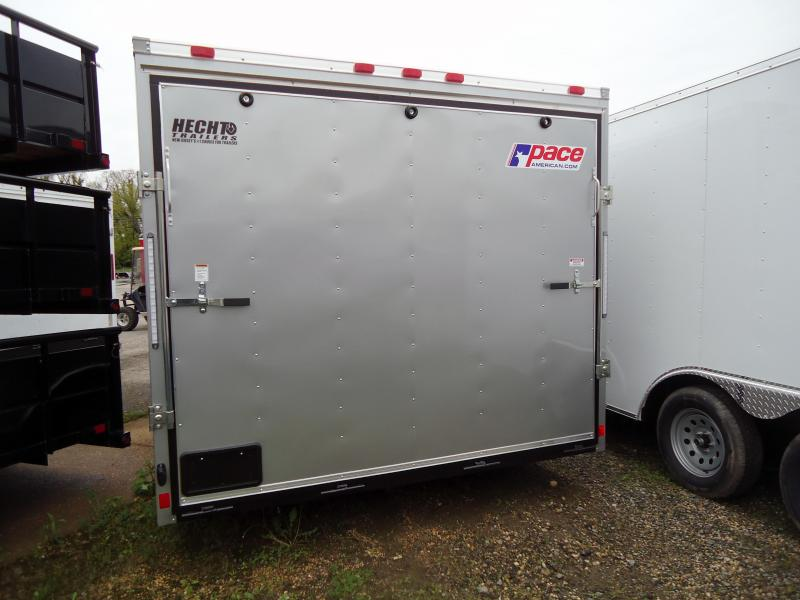 2020 Pace American 8.5X16 OB TE2 RAMP SVNTS SILVER Car / Racing Trailer