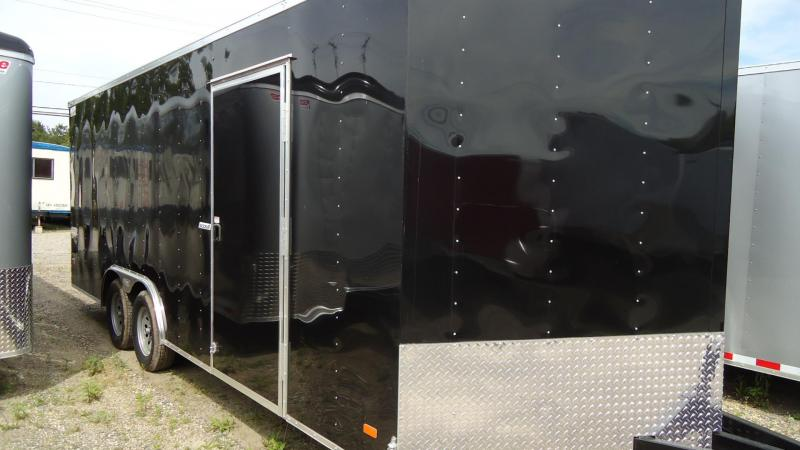 2020 Bravo Trailers 8.5X20 SC TA2 30V 60T EQUIP BLACK Enclosed Cargo Trailer