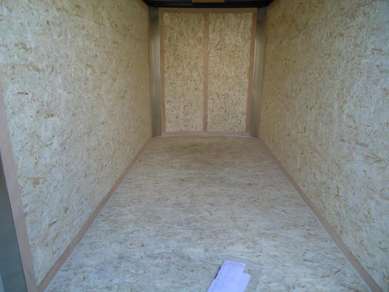 2019 Pace American 5X10 OB SI2 RAMP WHITE Enclosed Cargo Trailer