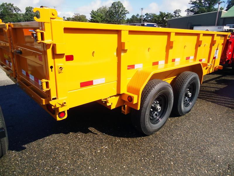 2019 Big Tex Trailers DT 7X14 14LX 14YE 7SIRPD TARP YELLOW Dump Trailer