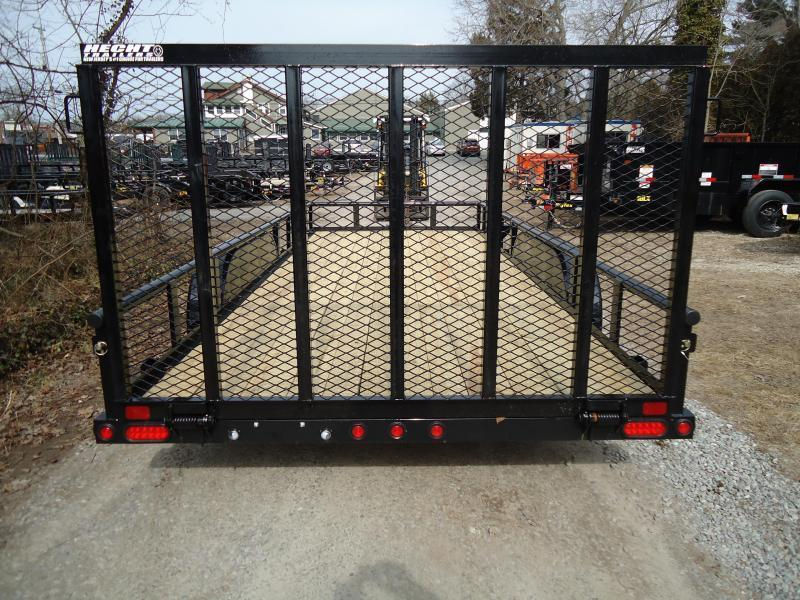 2019 Big Tex Trailers UT 7X20 70PI 20XBK 4RG ADJ COUP BLACK Utility Trailer