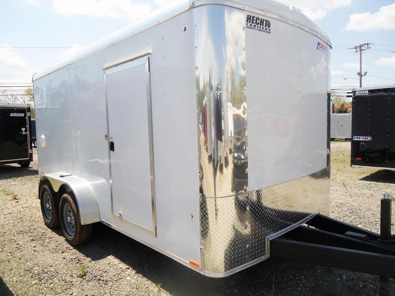 "2019 Pace American 7X14 CLS TE2 6""X 18"" RAMP WHITE Enclosed Cargo Trailer"