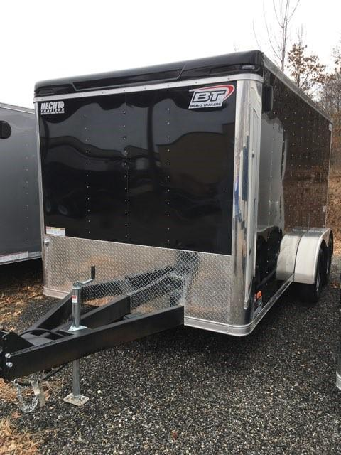 2018 Bravo Trailers 7X14 ST TA2 LND SCP HD RAMP BLACK Enclosed Cargo Trailer