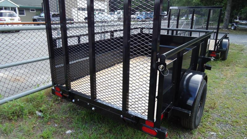 2020 Big Tex Trailers UT 5X8 30SV 08BK 4RG BLACK Utility Trailer