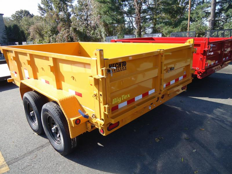 2019 Big Tex Trailers DT 7X12 10LX 12YE 7SIRPD YELLOW Dump Trailer