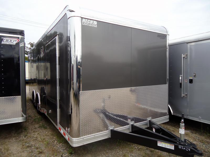 "2019 Bravo Trailers 8.5X24 ICON TA3 TOP GUN 36"" CARPET CHARCOAL Car / Racing Trailer"
