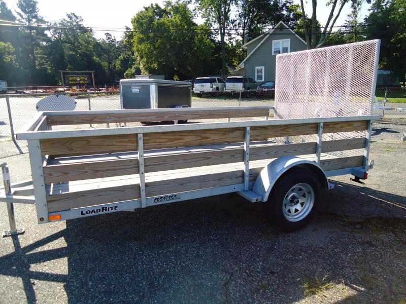 2016 Load Rite GALVANIZED UT-6.5X12 HW HIGH WOOD SIDES GATE SPARE MOUNT Utility Trailer