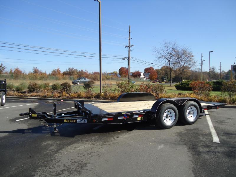 2016 Big Tex Trailers EH-7X20 10FT-20BK FULL TILT Equipment Trailer