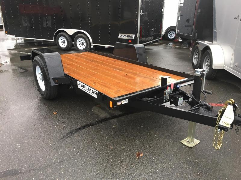 2017 Bri-Mar 5X12BTG SA TILT BLACK Equipment Trailer