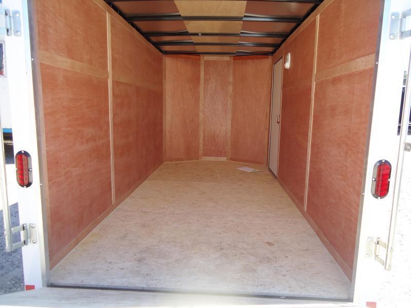 2019 Haulmark 6X12 PPT S2 EB RAMP WHITE Enclosed Cargo Trailer