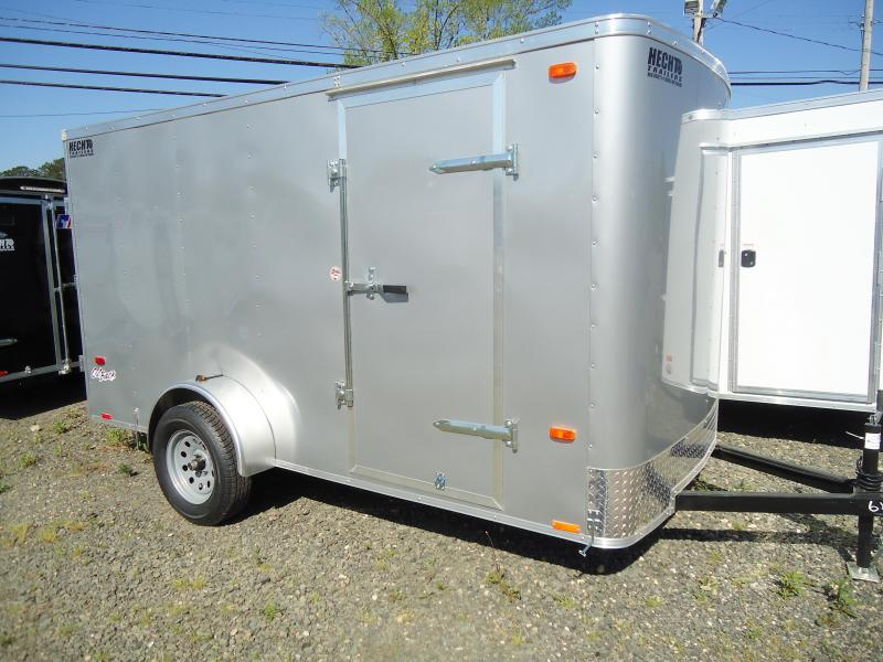 2019 Pace American 6X12 OB SI2 SILVER Enclosed Cargo Trailer