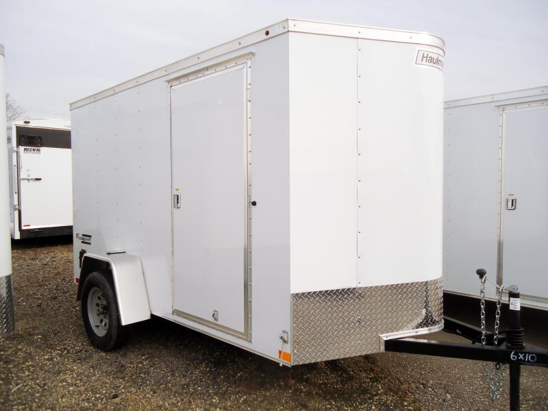 2019 Haulmark 6X10 PPT S2 RAMP WHITE Enclosed Cargo Trailer
