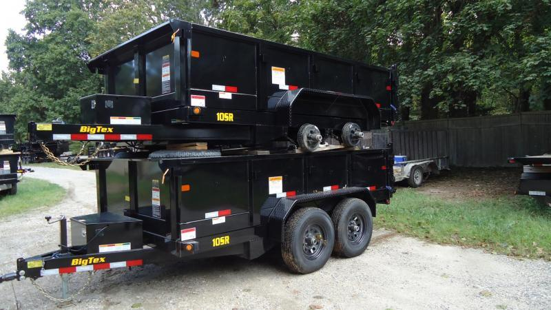 2020 Big Tex Trailers DT 7X12 10SR 12XLBK7SIR BLACK Dump Trailer
