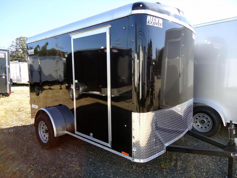 2019 Pace American 6X10 JT SI2 RAMP SVNTS BLACK Enclosed Cargo Trailer